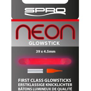 SPRO NEON GLOWSTICK RED 39X4.5MM