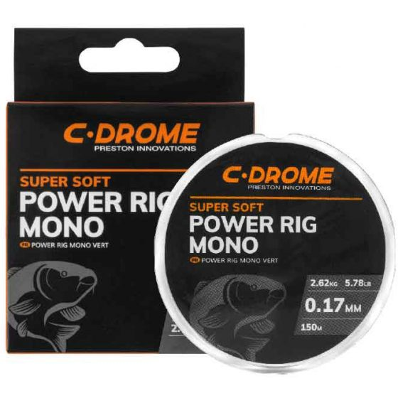 PRESTON C-DROME POWER RIG MONO 0.24mm - 150m