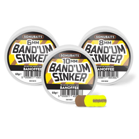 Band'um Sinkers - Banoffee 10mm