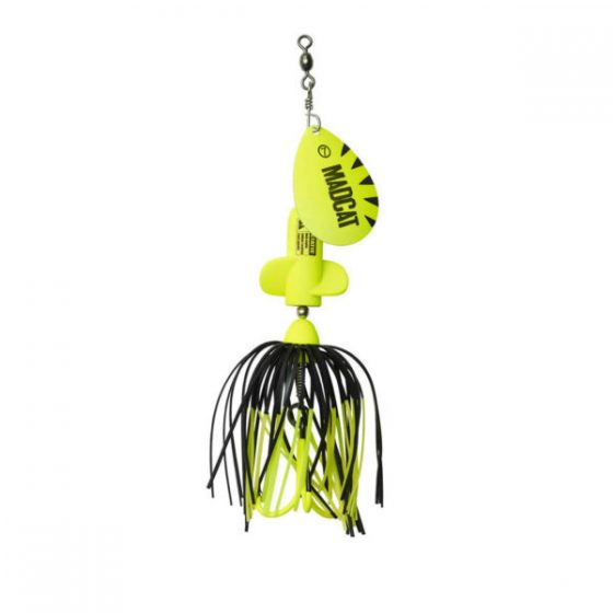 Madcat A-static screaming spinner 65gr 3/0 Fluo Yellow UV