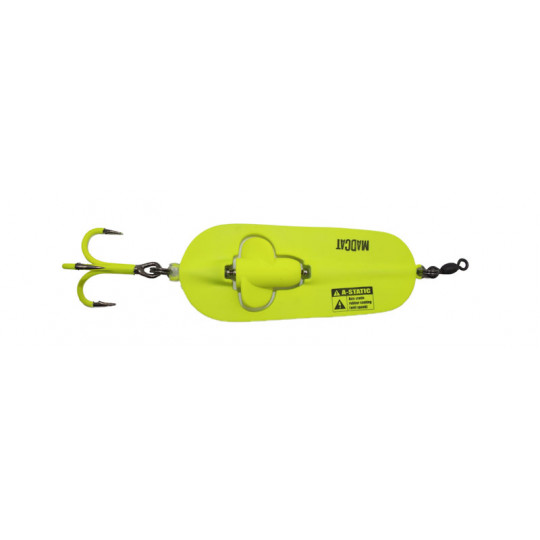 Madcat A-static Rattlin' spoon 3/0 110gr Fluo Yellow UV