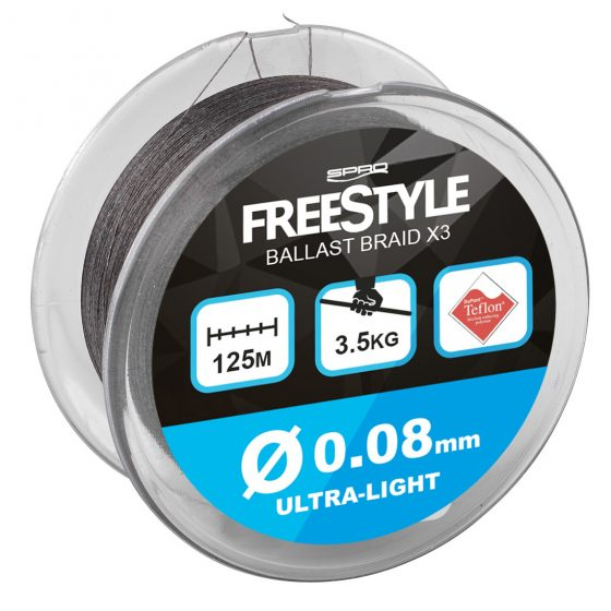 FSTYL BALLAST BRAID 125M 0,08MM U-LIGHT