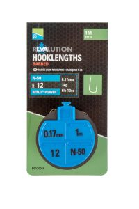 REVALUATION HOOKLENGTHS – N50 SIZE 12