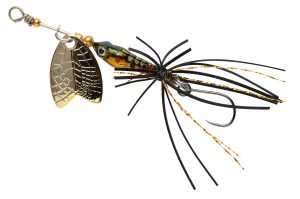 SPRO LARVA MAYFLY SP. SH 5CM 4GR BROWN TROUT