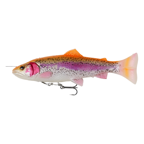 4D Line thru pulsetail trout 20cm 102gr SS Albino