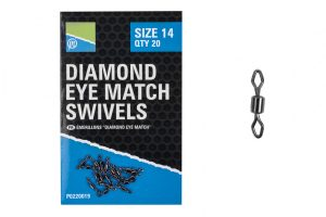 DIAMOND EYE MATCH SWIVELS – SIZE 10