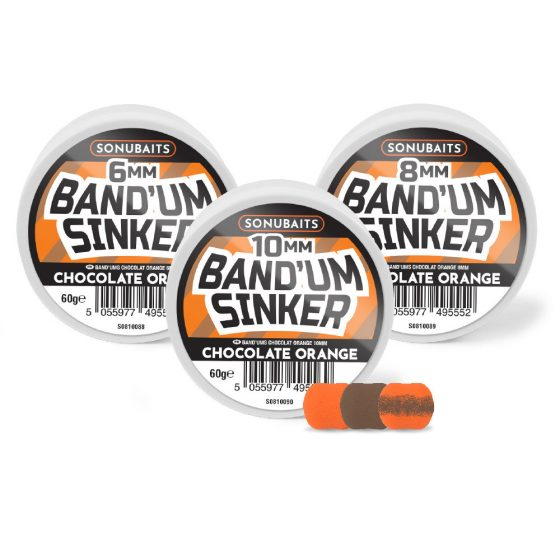 Band'um Sinkers - Chocolate Orange 8mm