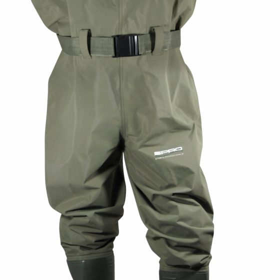 SPRO PVC CHEST WADERS # 42