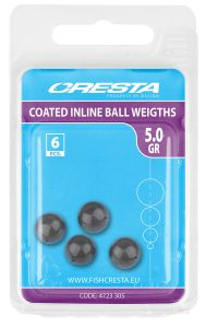 COATED INLINE BALL WEIGHT 5.0G