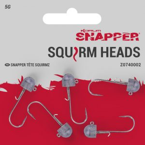 SNAPPER SQUIRM HEADS SIZE 1 5G