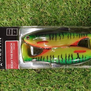 Ricky the roach shadtail 10cm 14g fire perch 2pcs
