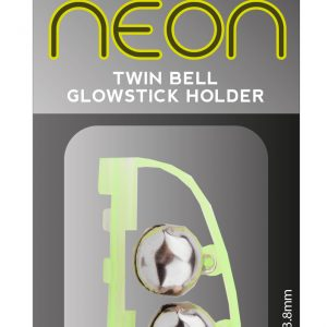 NEON CLIP DOUBLE BELL GLOWSTICK HOLDER