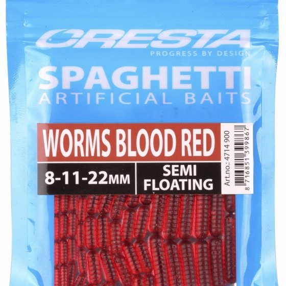 SPAGHETTI WORMS BLOOD RED
